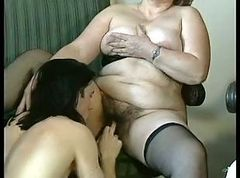 Granny, Hairy, Bbw, Mature, French granny