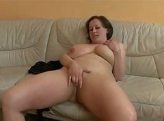 German, Bbw, Mature, Monster tits anal