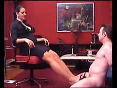 German, Footjob, Mistress lexi sindel footjob