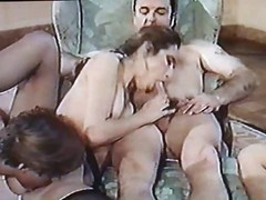 French, Group, Classic, Ass, Group sex amateur orgy