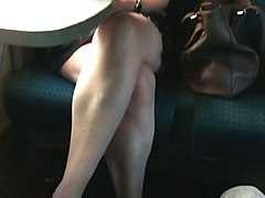 Train, Japanese girls pussy fingered in train