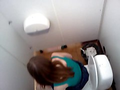 Oil, Hidden, Hidden cam asian toilet masturbating and squirting uncensored