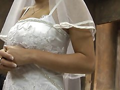 Wedding, Real father breeding daughter impregnated