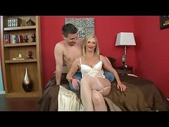 Anal, Granny, Stockings, Stockings family