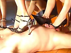 Footjob, Train, Soffie dee mistress footjob