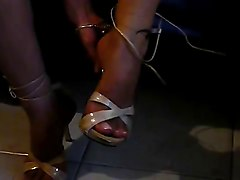 Fetish, Heels, High heels dangling and dipping