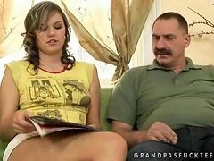 Grandpa, Teen, Japanese grandpa sex story