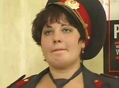 Office, Police, Russian, Mature, Ebony hairy lesbian