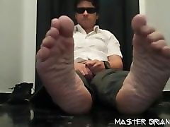Socks, Handjob footjob