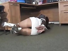 Gagging, Secretary, Tied, Babysitter tied and gagged