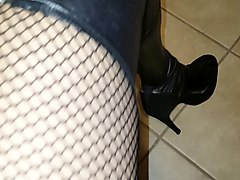 Crossdresser, Dress, Crossdresser dress cum on