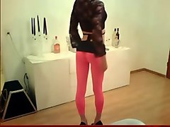 Crossdresser, Dress, Sexy ebony milf squirts on mandingo cock