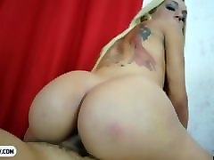 Anal, Blonde, Brazil, Ass, 8 inches from brazil