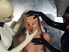 Fetish, Rubber, Hand rubber fisting gay