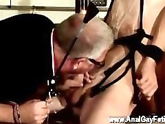 Anal, Double Anal, Double anal cum eating cuckold
