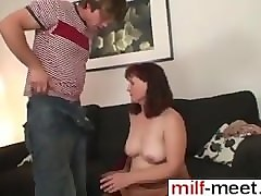 Husband, Milf, Playing with her mom s toys when she is gone