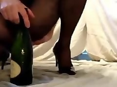 Anal, Bottle, Shower, Wife meets man in hotel bottle