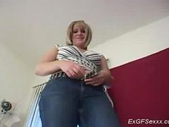 Handjob, Girlfriend, Hidden cam british ex girlfriend
