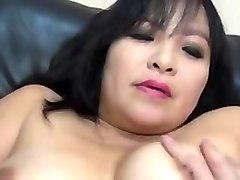 Asian, Creampie, Milf, Spytug - asian milf re eives massage