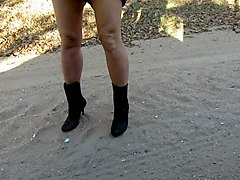 Boots, Stockings and boots outdoor