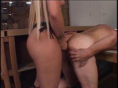 Blonde, Ass, Busty austin taylor oily ass gets pounded