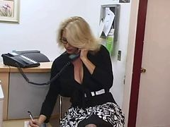Secretary, Big Tits, Mature, Hot moms big tits
