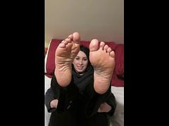 Arab, Feet, Fetish, Shemale foot feet