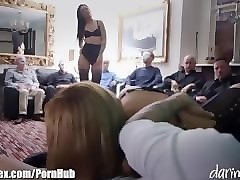 British, Mask, Milf, Fuck in front of his wife
