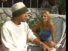 Anal, Jesse jane fucks son by the pool