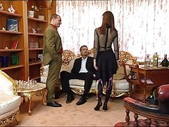 Anal, Stockings, Facial, Lingerie, Russian threesome