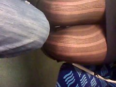 Panties, Pantyhose, Train, Black african fucked in the bush