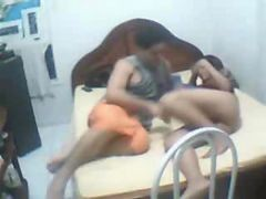 Indian, Couple, Caught, Couples masterbate together