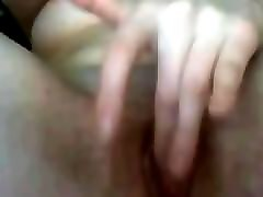 Milf, Horny college girl masturbating oil interview