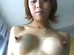 Asian, Nipples, Fetish, Milk, Busty asian swallow