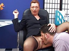 Ass, Secretary, Mature, Office secretary facesitting