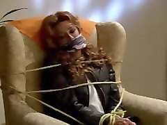 Gagging, Tied, Steomom tied and gagged
