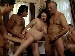 Gangbang, Pregnant, Lola_s perverted fantasy_ rough anal gangbang with lots of piss drinking (sz617) - legalporno
