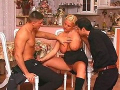 Bisexual, Party, Mature couples first full bisexual foursome