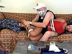 Asian, Teen, Tied, Tied up and gagged