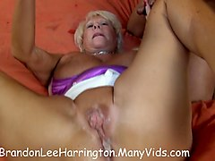 Gangbang, Creampie, White pussyfuck squirt by bbc
