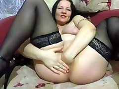 Fisting, Russian, Milf, Virtual sex milf