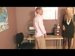 Office, Femdom, Stockings, Femdom ass fist girls