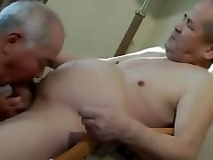 Old Man, Japanese old man blowjob uncensored