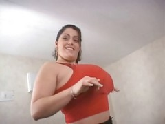 Doll, Natural, Big Tits, Huge natural tits with some milk squirt