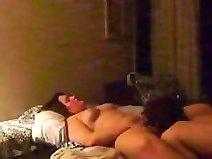 Husband sharing his hot wife