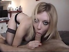 Blonde, British, Innocent wife seduced british amateur housewife