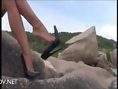 Compilation, Heels, High heels crush fish