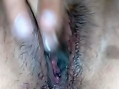 Sister fucks brother and lets him cum in her pussy