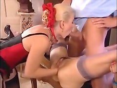 Ffm, Classic, German, Ass, Classic sweden threesome