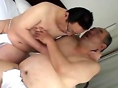 Old Man, Japanese old man fuck girl